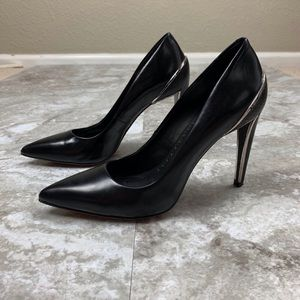 Dolce Vita Shoes - Dolce Vita Karisse Pointed Toe Leather Heels Sz 7